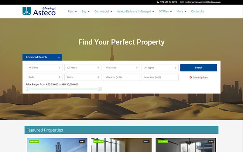 Asteco-Property-Search
